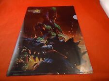 Monster Hunter 3G Nintendo 3DS Promotional Folder RARE Japan Promo