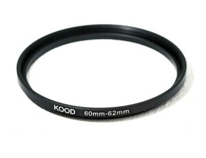 Stepping Ring 60-62mm 60mm to 62mm Step Up ring stepping Rings 60mm-62mm