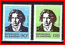 DAHOMEY 1970 COMPOSER BEETHOVEN MNH MUSIC (PERFECT CONDITION!!!) (E15-D)