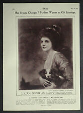 Lilian Bond As Lady Hamilton After George Romney Emil Hoppe 1925 Photo Study