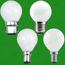 Opal Golf Round Dimmable Standard Light Bulbs 25W 40W 60W Bc Es Sbc Ses Lamp