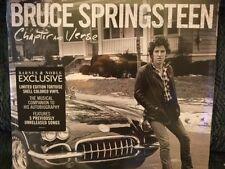 Bruce Springsteen Chapter & Verse B&N EXCLUSIVE LP Tortoise Colored Vinyl WOW!!