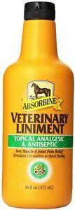 ABSORBINE JR VETERINARY LINIMENT HORSE 16OZ
