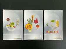 LUFTHANSA GERMAN AIRLINES Business Class Menu's 2014 & 2015 (set of 3)