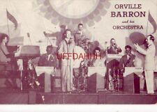 ORVILLE BARRON AND HIS ORCHESTRA, IOWA