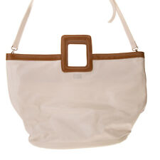 RRP €145 SOLID & STRIPED Canvas Tote Bag Large PVC Coated Panel Zipped