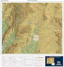 Aguascalientes State Mexico POD Wall Map ISBN 9781586113988