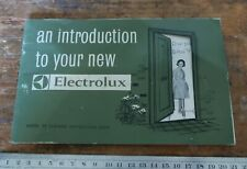 Vintage Electrolux Vacuum Guide Model 89 Instruction book ?1960s manual