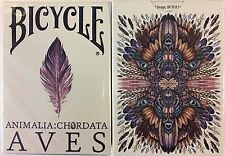 Aves Uncaged Bicycle Playing Cards Poker Size Deck USPCC Limited Custom Sealed