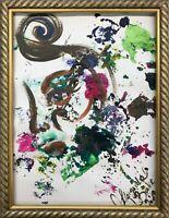 Margarita Bonke ORIGINAL Malerei PAINTING abstract abstrakt frau woman kunst art
