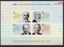 Liechtenstein Block21 (kompl.Ausg.) postfrisch 2012 Fürsten (9063034