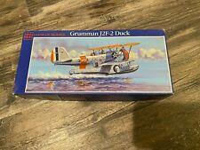 GLENCOE MODELS GRUMMAN J2F-2 DUCK 1/48 SCALE PLASTIC MODEL KIT