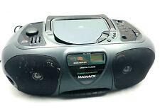 Magnavox Az-8262/17 Cd Radio Cassette Tape Compact Disc Player Recorder Boombox