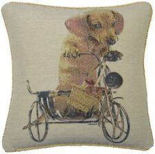 Cotton Blend Dog Decorative Cushions & Pillows