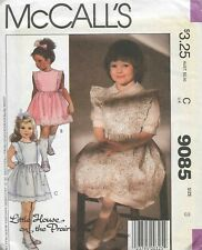Uncut Size 12 McCalls 8906 80s Dress Vintage Sewing Pattern Pullover
