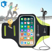 Sports Gym Running Jogging Armband Case Holder Pouch Fr iPhone XS MAX/X/8/7/Plus