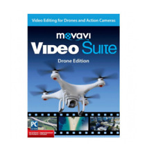 MOVAVI Video Suite: Drone Edition Encore Software NEW FACTORY SEALED