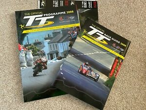 Isle of Man TT official programme and race guide 2008 - EXCELLENT CONDITION