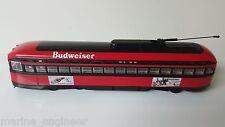 """1:50 Diecast CORGI 55022 PCC Budweiser """"Ballpark"""" Streetcar"""