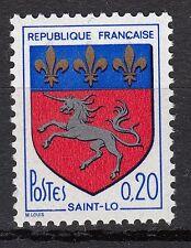 FRANCE TIMBRE NEUF N° 1510  ** ARMOIRIES DE VILLE BLASON DE SAINT LO