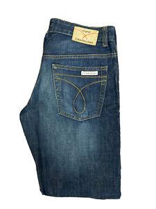 Original Calvin Klein Jeans Straight Leg Blue Denim Jeans W31 L32 ES 7941