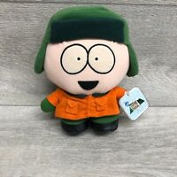 """Vintage 1998 South Park Kyle 7.5"""" Plush Toy Comedy Central Collectable Tagged"""