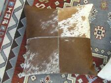 Cowhide Pillow Safavieh Carley Brown And White 22x22 Down alternative complete