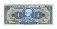 1 Cruzeiro Brasilien 1954 UNC C010 / P.150a - Brazil Banknote
