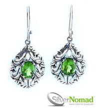 Peridot Not Enhanced Sterling Silver Fine Jewellery