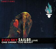 MUSIK-DOPPEL-CD NEU/OVP - Sailor - One Drink Too Many - Live