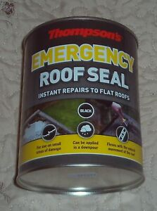 Thompson's Emergency Roof Seal - 1 litre - Black