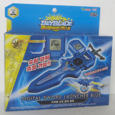 Original Takara Tomy BeyBlade Burst B-93 DIGITAL SWORD LAUNCHER BLUE