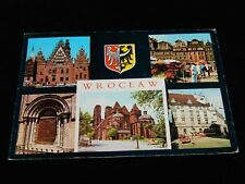 Vintage Postcard, WARSAW, POLAND, Multi-View Of The City, To Winnipeg,MB,Canada