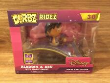 Funko Dorbz Ridez #30 Aladdin & Abu with Magic Carpet 2017 Summer Exclusive