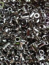 50 X Hülsenmutter M6 14x8x12mm Stahl vernickelt Flachkopf Typ RFL Innensechskant