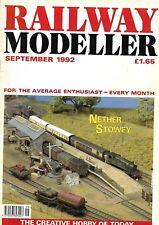 """""""RAILWAY MODELLER""""  MAGAZINE ~ SEPTEMBER 1992 ~ NETHER STOWEY"""