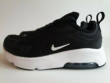 NIKE AIR MAX 200 BOYS/GIRLS UNISEX KIDS TRAINERS UK SIZE 9.5 BlACK/WHITE