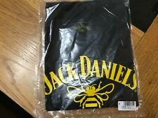 JACK DANIELS LADIES SMALL   BLACK  TENNESSEE HONEY  T SHIRT FROM 2019