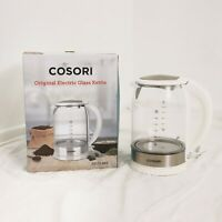 Cosori Electric Tea Kettle 1.7L CO171-GK2 Stainless Steel White  Water Boiler