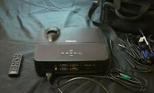 InFocus IN112 DLP Projector 3D 2700 ANSI HD 1080i/p with Cables & Case 1026 hrs