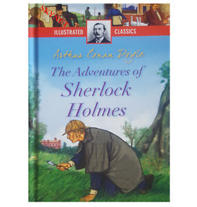ILLUSTRATED CLASSICS The Adventures of Sherlock Holmes Children's Story Book -,