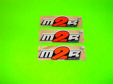 M2R HELMETS MOTOCROSS QUAD SNOWMOBILE MOTORCYCLE METRIC BIKE GRAPHICS STICKERS
