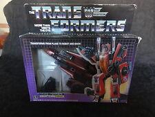 Transformers Generation One Decepticon Thrust Complete in Box Mib