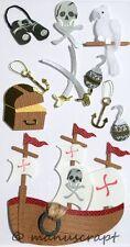 Artoz Artwork 3D-Sticker, Piratenwelt