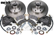 C10 Disc Brake Conversion Kit 1960-62 Chevy GMC 6 Lug 2.5 Drop Spindle McGaughys