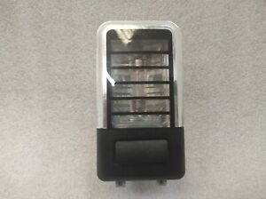 BMW X5 E53 REAR ROOF READING LIGHT BLACK 6962036