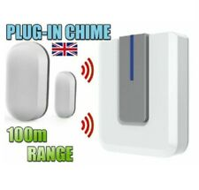 WIRELESS SHOP VISITOR BELL Door ENTRY Magnet Contact Alert CHIME ALARM 100M