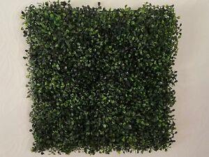 6x Hedgedin Artificial Boxwood Hedge Panel 50x50cm UV Stable indoor/outdoor