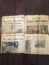 1963 Newspapers PRESIDENT KENNEDY Killed