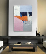 Hungryartist - NY artist -Large contemporary modern abstract art on canvas 24X36